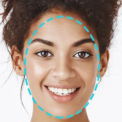 Моделиране овала на лицето
